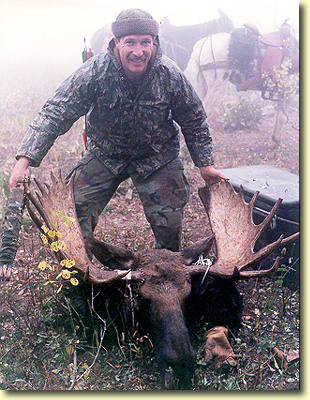 Mike's Trophy Moose