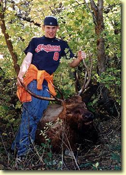 Tyler's First Bull