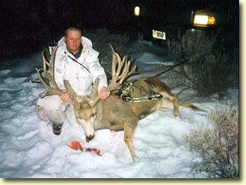 One of the best archery bucks taken in 2001