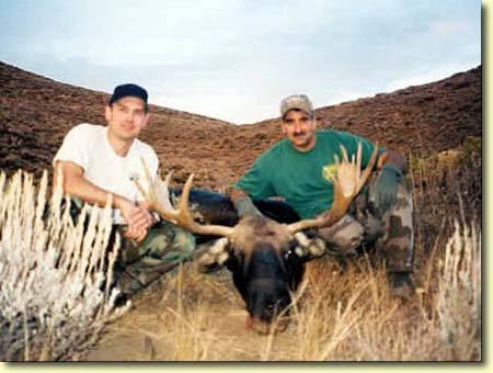 The Shortest Moose Hunt In History