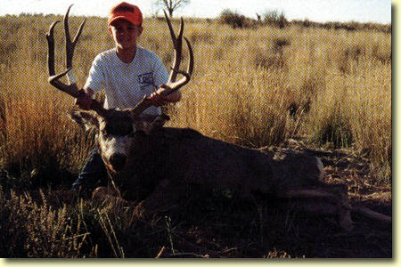 Kirk's First Buck