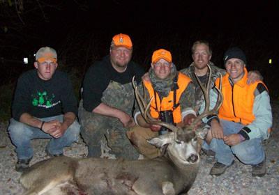 The Hillside Buck